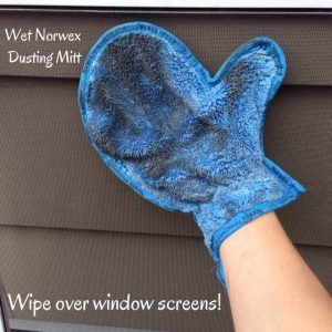 Norwex Dusting Mitt For Screen Cleaning Work With Water