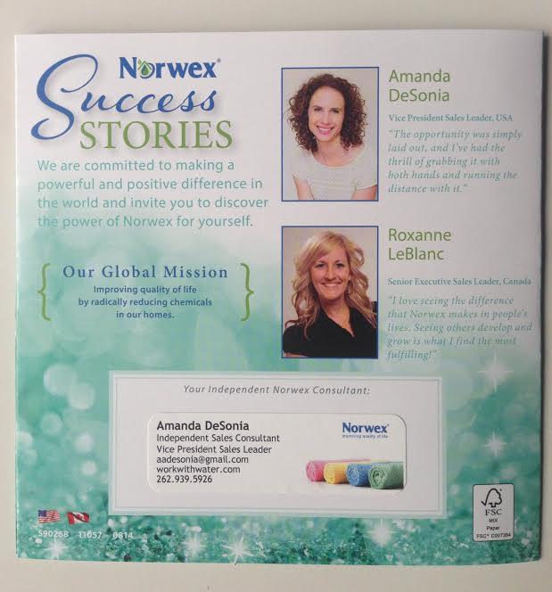 Amanda DeSonia Norwex Success Story