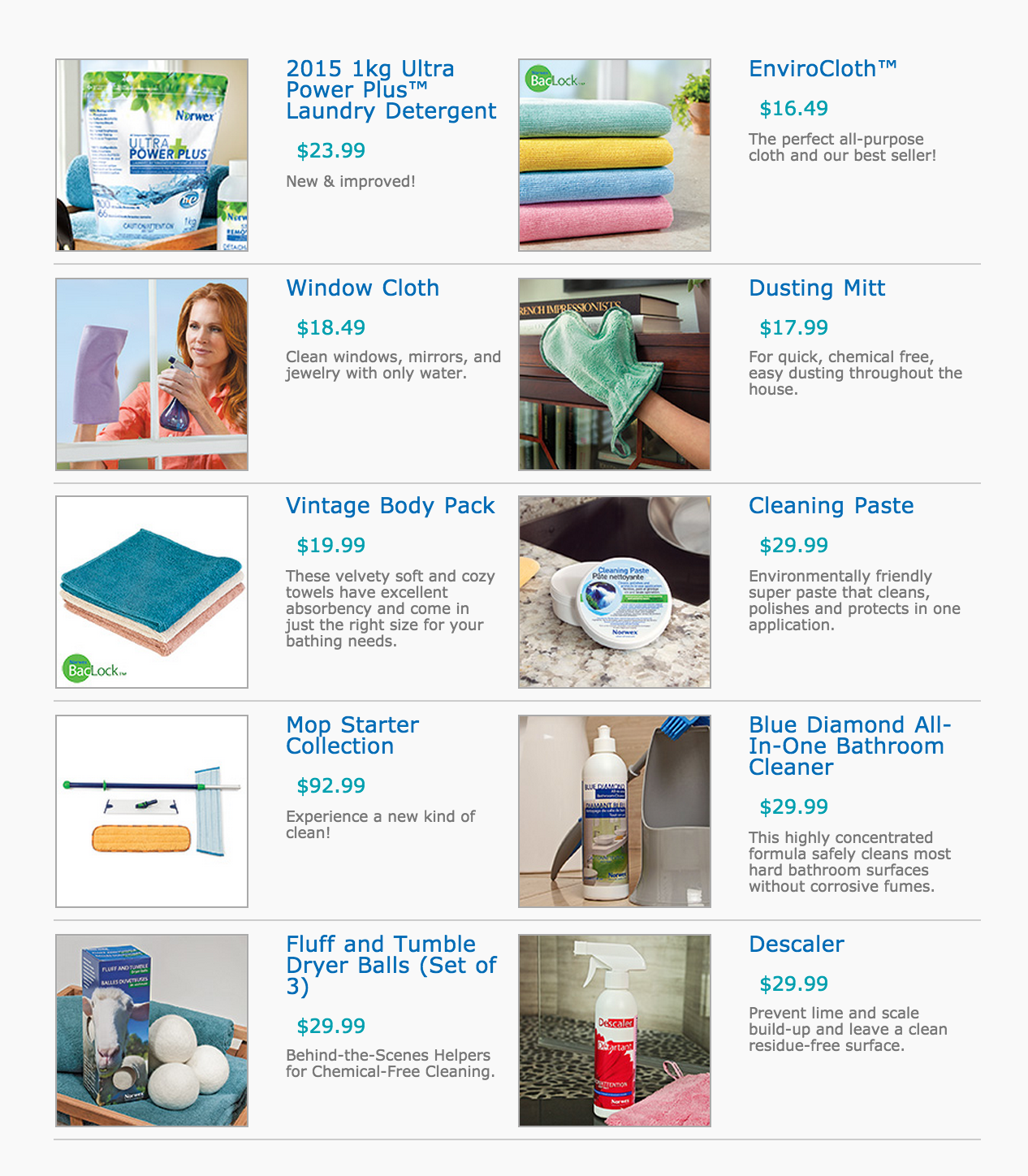 The Best of the Norwex Best!