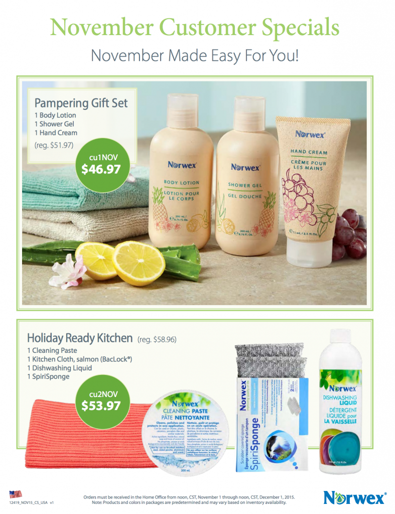 Norwex__November_Hostess_Gift_Customer_Specials