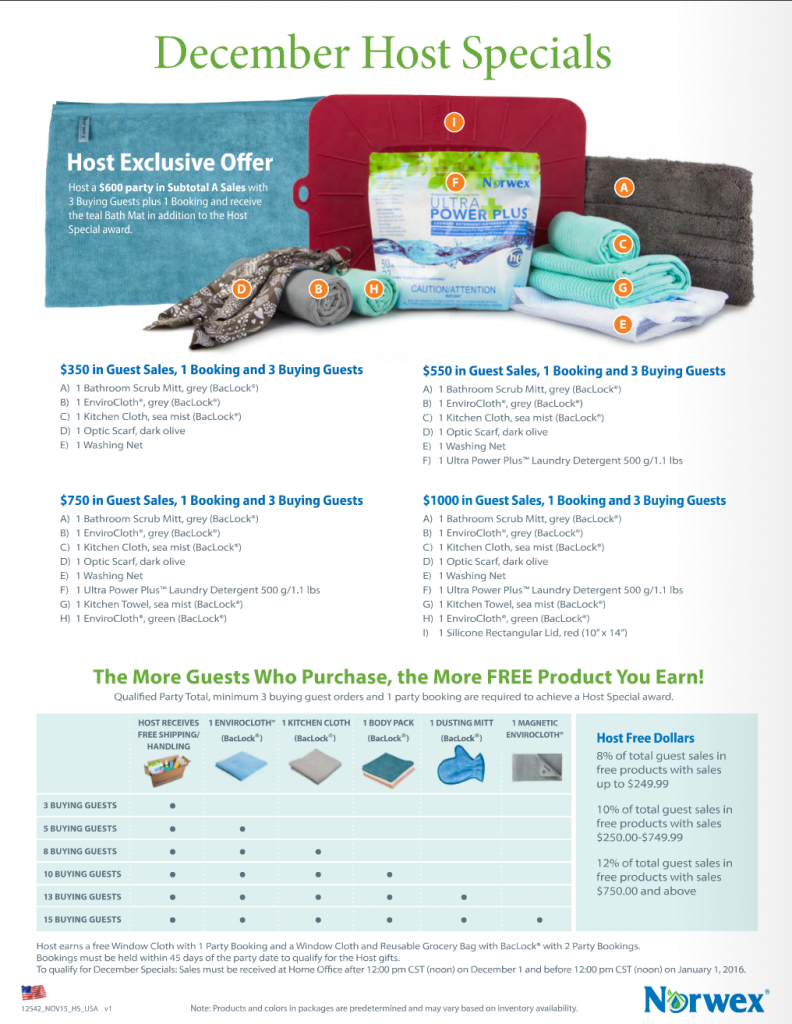 December_Norwex_Customer_Specials