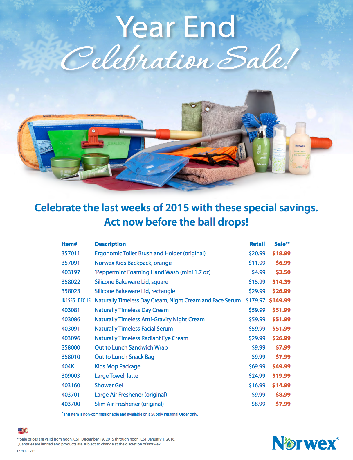 December_Norwex_Sale_Cheap_Products