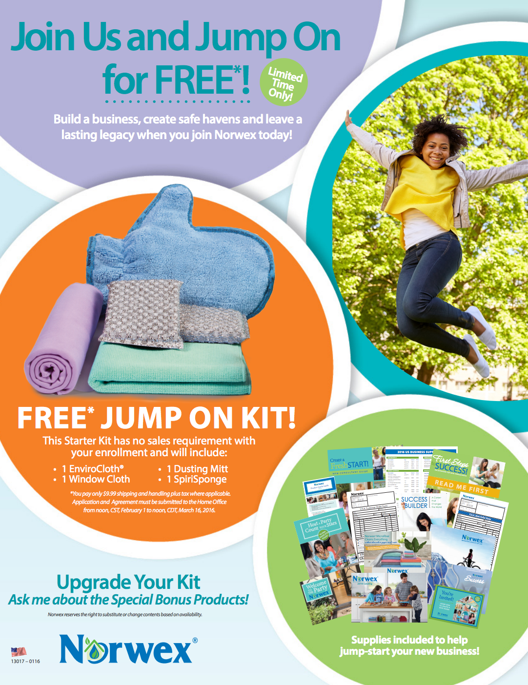 Join Norwex Now and Become A Consultant for Free!