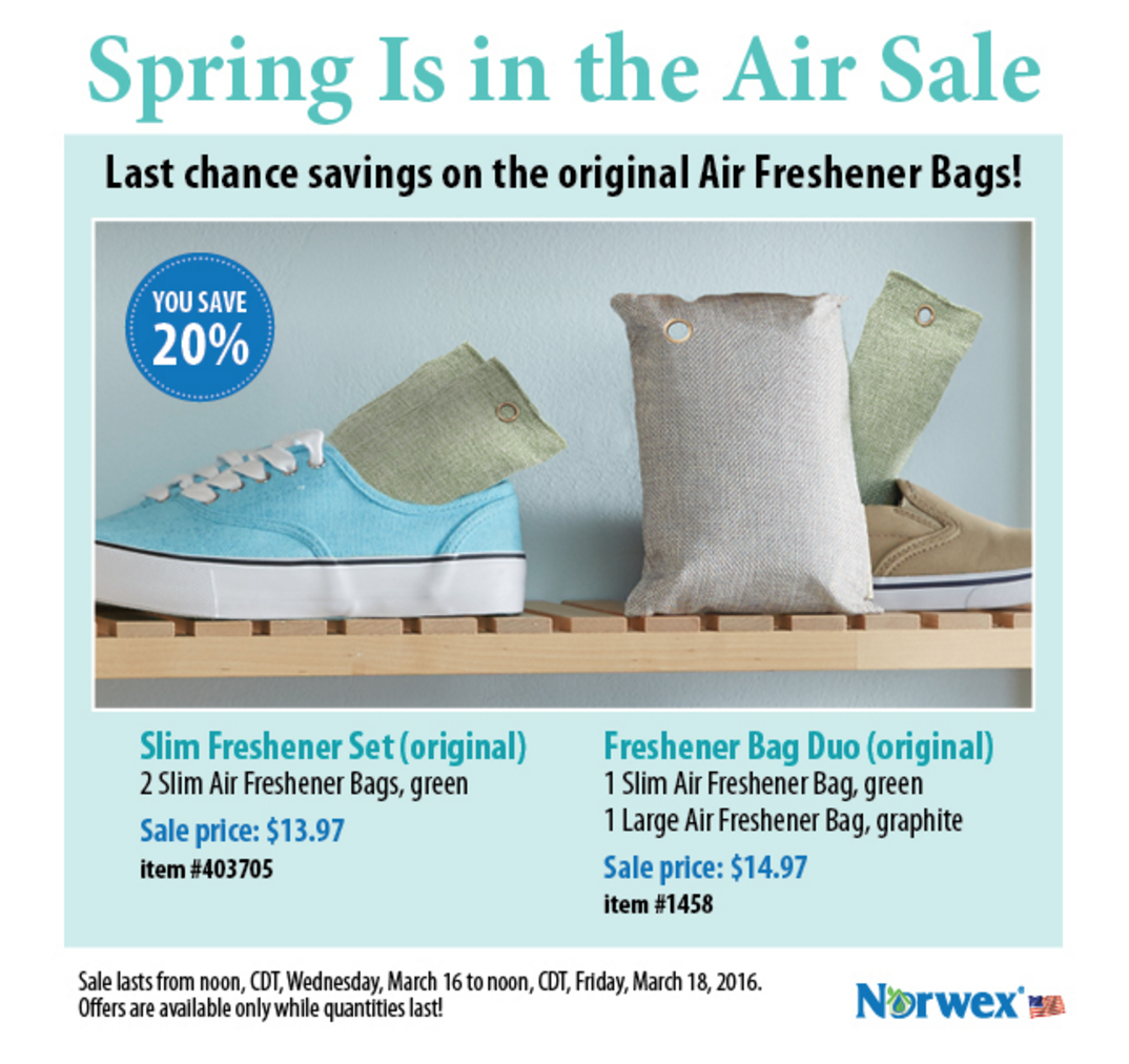 Norwex Spring 2-Day Sale!