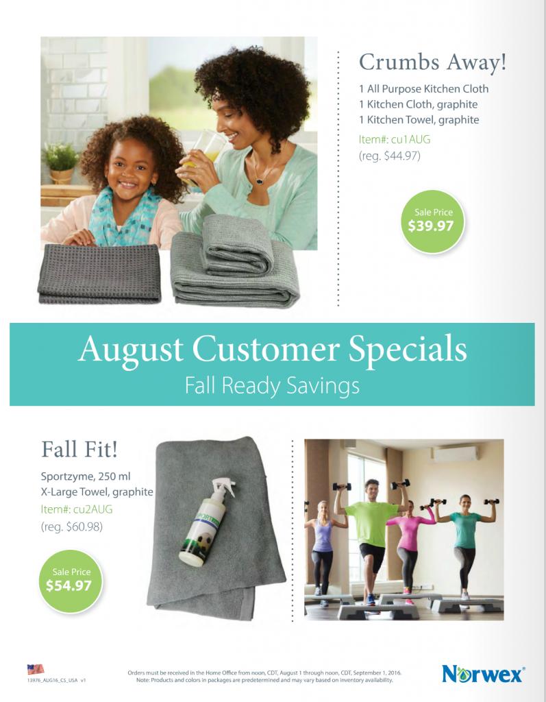 Norwex_Customer_Savings_Sale_Special_August