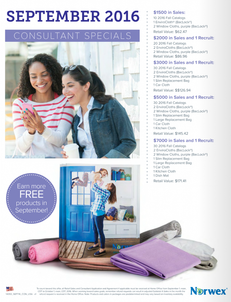 Norwex_Free_Product_Consultant_Benefits