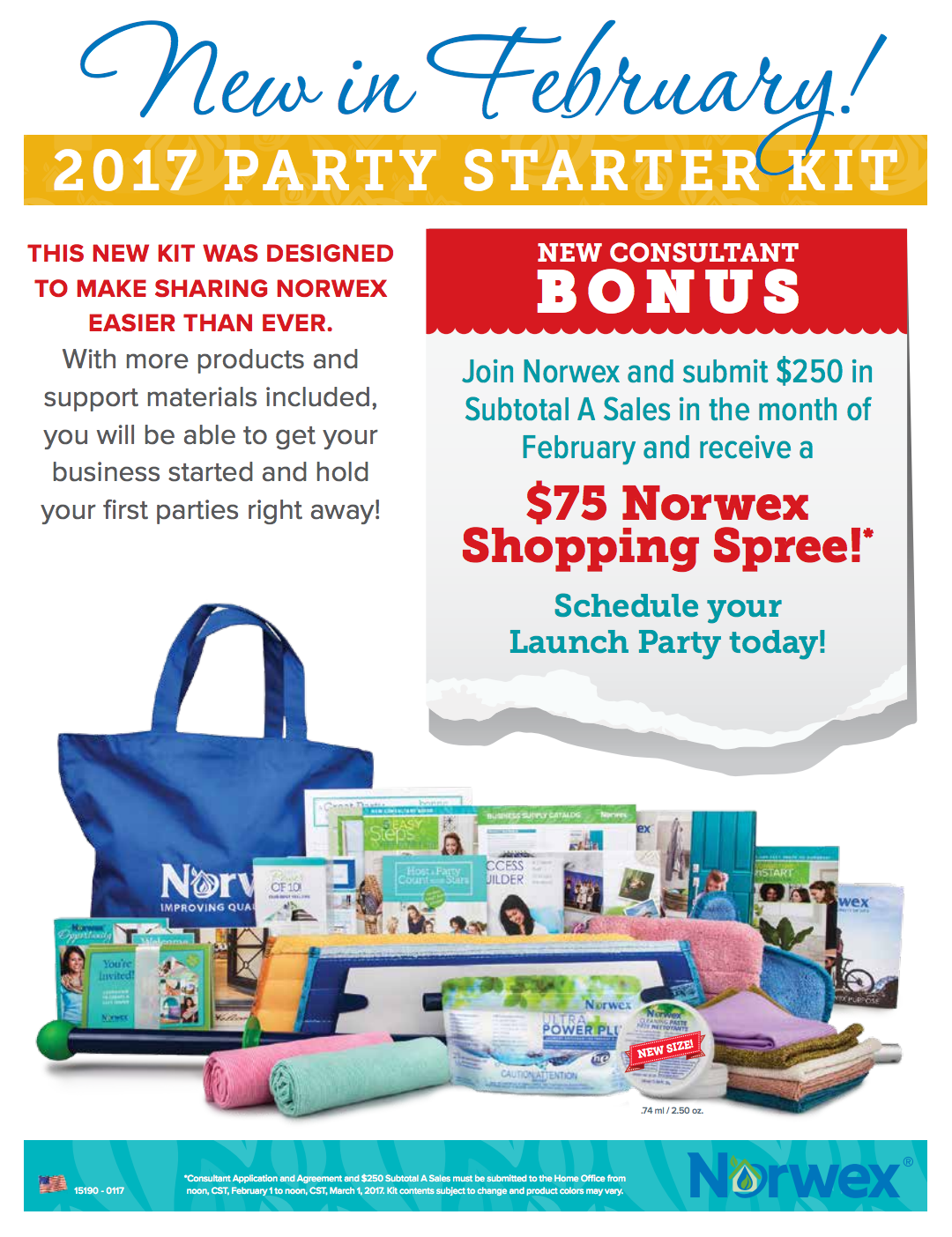 Join Norwex, Become a Consultant in February *Bonus Shopping Spree!