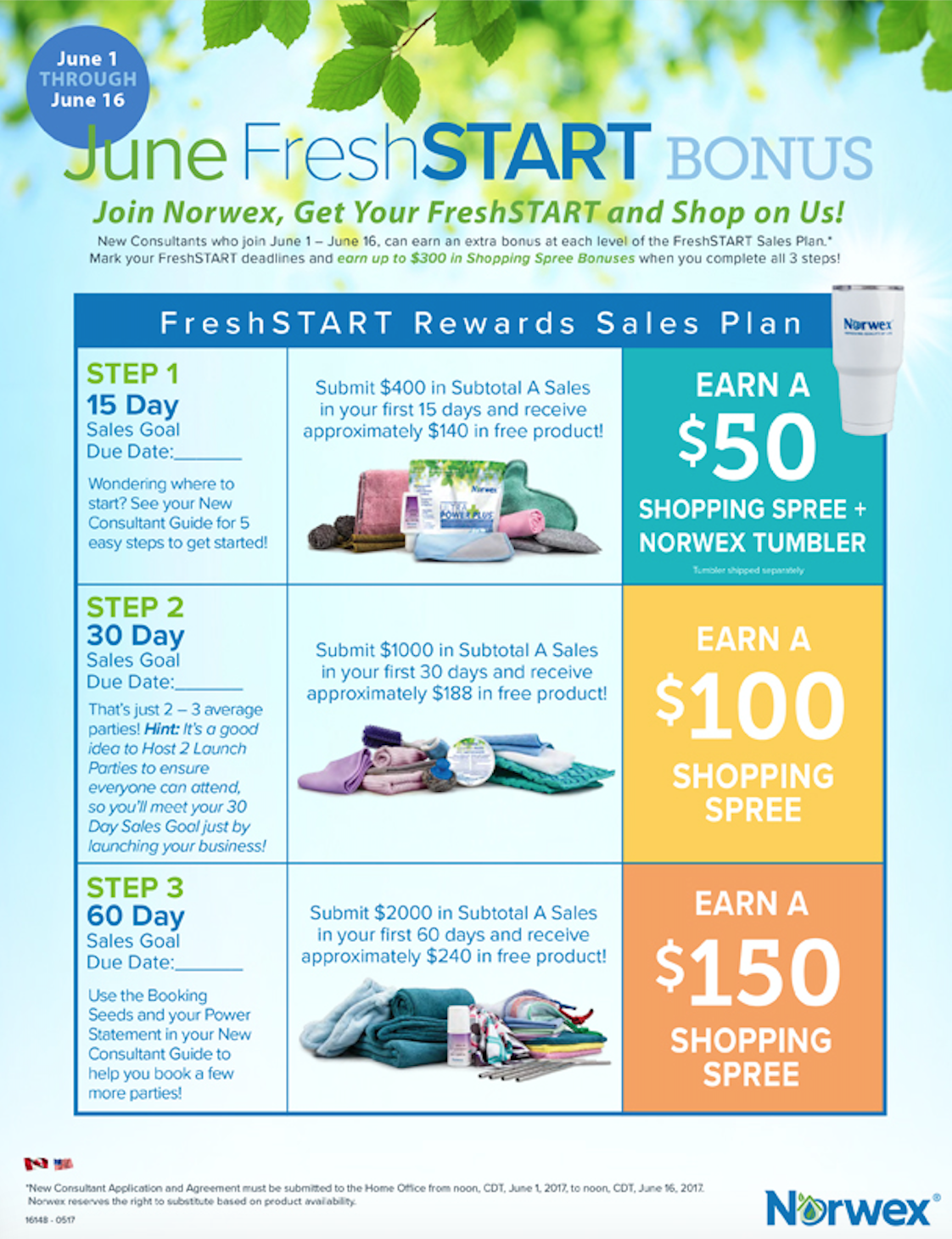 Join Norwex in June, Increase Your Free Products!